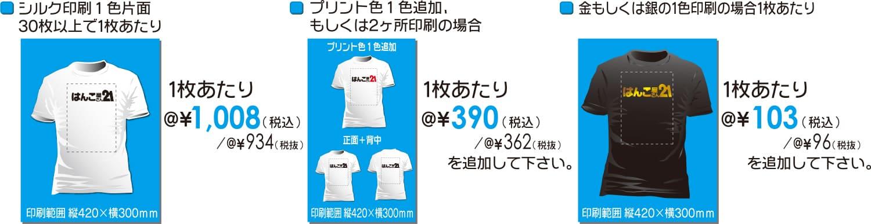 1008Tシャツの価格について