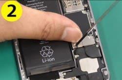iPhone修理の手順2